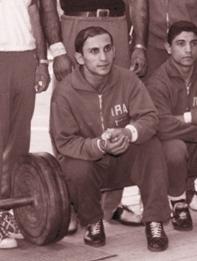 علی صفاسنبلی قهرمان قائمشهری وزنه برداری کشور